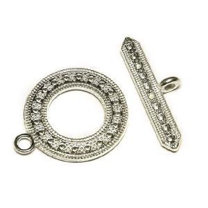 マンテル メーテル 古代銀 アクセサリーパーツ 留め具 1セット販売|b-soft