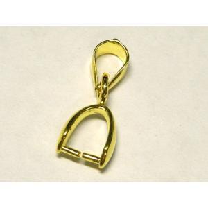 バチカン Aカン  ゴールド 約16mm 1個|b-soft