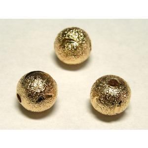 スペーサー 丸型 ピンクゴールド 約8mm 10個 チベタン 金属パーツ メタルビーズ b-soft