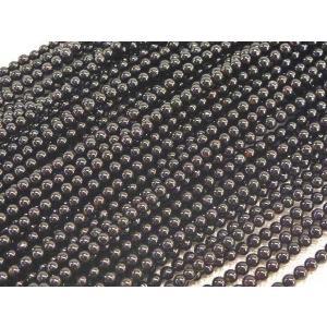 オニキス ラウンド 連販売 約2mm 天然石ビーズ|b-soft