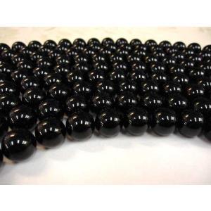 オニキス ラウンド 連販売 約14mm 天然石ビーズ|b-soft