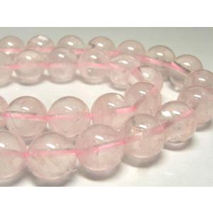 ローズクォーツ ラウンド 連販売 約10mm 天然石ビーズ アクセサリーパーツ パワーストーン ピンク|b-soft