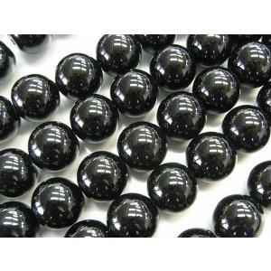 オニキス ラウンド 連販売 約12mm 天然石ビーズ|b-soft