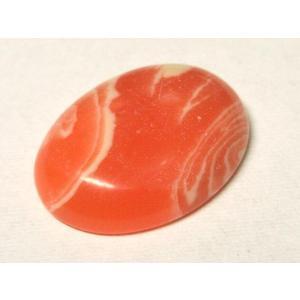 カボション 人工インカローズ 約20×15mm 1個 アクセサリーパーツ ルース 裸石 パワーストーン|b-soft