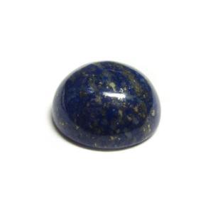 カボション ラピスラズリ ラウンド 約10mm【1個】ルース 裸石 パワーストーン アクセサリーパーツ|b-soft