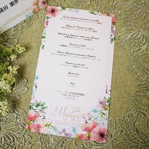 結婚式 メニュー クラーラ 手作り キット 用紙 おしゃれ 安い