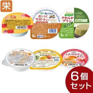 栄養サポートゼリー 6種セット(6種類各1個)