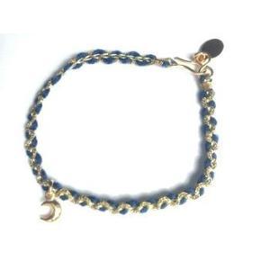 chibi jewels チビジュエルズ ブレスレット カラーコード ウィズ クレセントムーンチャーム/ブルー|b-t-f