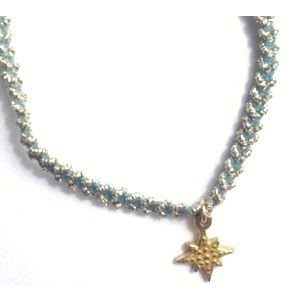 chibi jewels チビジュエルズ ブレスレット パステルコード ウィズ ブリリアントスターチャーム/ブルーベリー|b-t-f