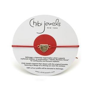 chibi jewels チビジュエルズ ブレスレット Ashinaga Dream Bracelet レッド|b-t-f