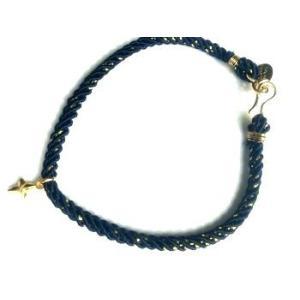 chibi jewels チビジュエルズ ブレスレット ミッドナイトコード ウィズ トゥインクリングスターチャーム/ブラック|b-t-f