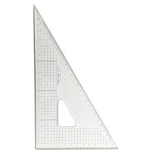 24cm×60°三角定規:ステンエッジ三角定規24T-60(側面ステンレス加工)【デザイン文具】【事務用品】【楽ギフ_包装】【楽ギフ_メッセ】02P05July14|b-town