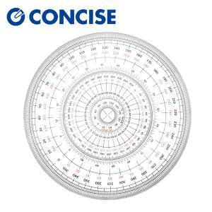 全円分度器 C-15 (直径15cm)【デザイン文具】【事務用品】 b-town