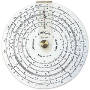円形計算尺 NO.300【デザイン文具】【事務用品】|b-town