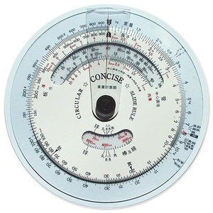 円形計算尺 重量計算器【デザイン文具】【事務用品】|b-town