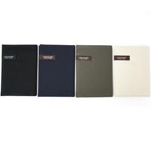カードケース 二つ折り 布製/コットン(ベーシックカラー) カダケスシリーズ|b-town