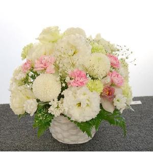 お供え花 御供花 フラワーアレンジメント レギュラー|baba0878