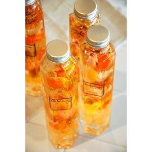 ハーバリウム 6角ボトル オータムオレンジ6or5|baba0878|04