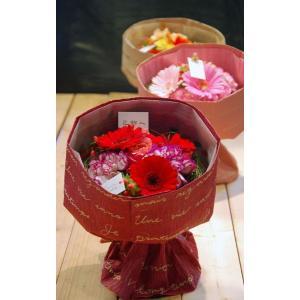 花束 ブーケ そのまま飾れる花束レッド赤|baba0878
