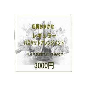 店長におまかせ【おまかせフラワーアレンジ30】|baba0878