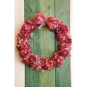 ドライフラワー ナチュラルリース6 27cm dried flower Wreath 売り切れました|baba0878