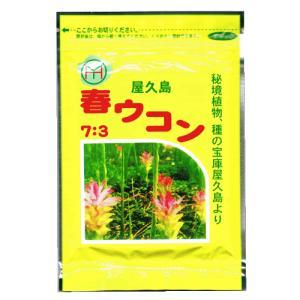屋久島春ウコン7:3 錠剤120粒 屋久島の健康食品|baba