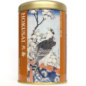 葛飾北斎(桜花と鷹) しょうが入り紅茶 16g|baba