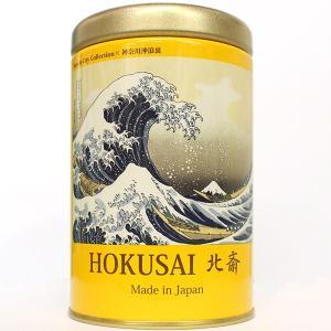 葛飾北斎(神奈川沖浪裏) 柚子の香りの紅茶 16g|baba