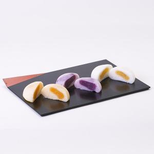 かるかん饅頭 紫いも・黄金いも・紅隼人いもあん 4個入り 3種類のいもあんのかるかん饅頭|baba|04