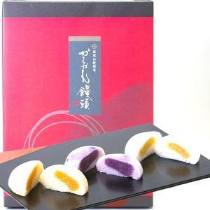 かるかん饅頭 紫いも・黄金いも・紅隼人いもあん 12個入り 3種類のいもあんのかるかん饅頭|baba