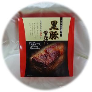 鹿児島限定 黒豚せんべい 2枚×24袋|baba