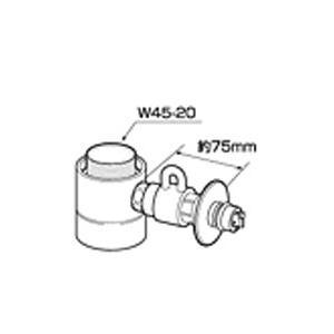 ●分岐水栓を取り付けることで水栓の奥行きや高さが変わります。 ●水栓周りに分岐水栓を取り付ける余裕が...