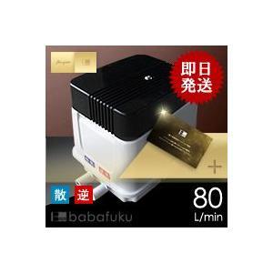 浄化槽ブロワ安永EP80E-L(左)/浄化槽ポンプ|babafuku