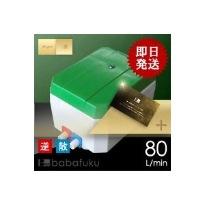 浄化槽ブロワー/セコー(世晃)/大晃TKO-80T(右)合併浄化槽ブロワー babafuku