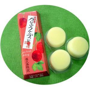 屋久島銘菓 パッションフルーツプリン|babayaku