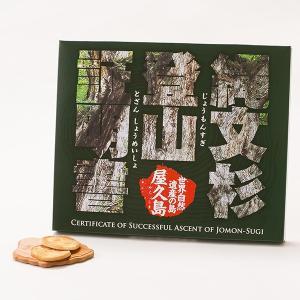 縄文杉登山証明 36枚入 エビとあご(とび魚)のお煎餅|babayaku