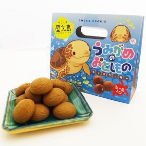 屋久島 うみがめのおとしもの(チョコクッキー) 12個入|babayaku