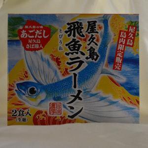 屋久島飛魚ラーメン 生麺2食入|babayaku