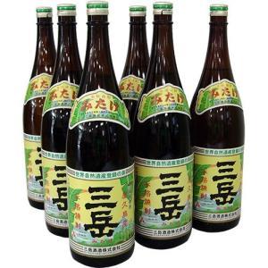 焼酎 三岳 1800ml×6本 屋久島より直送致します 未成年者には販売いたしません|babayaku