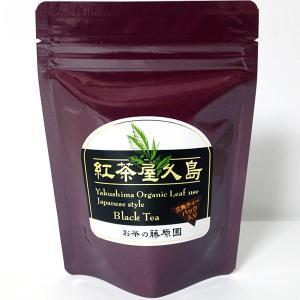 お茶の藤原園 紅茶屋久島 三角ティーパック入り 36g(3g×12)|babayaku