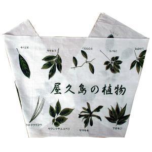 屋久島の手ぬぐい 屋久島の植物 babayaku