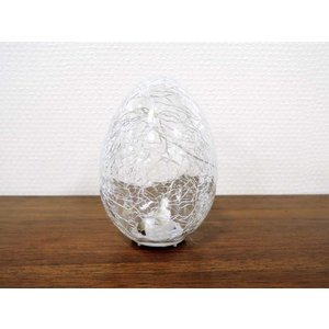LEDを使った卵型のスタンドライト 電池式 アジアン雑貨 アンティーク おしゃれ 輸入雑貨 完成品 ...