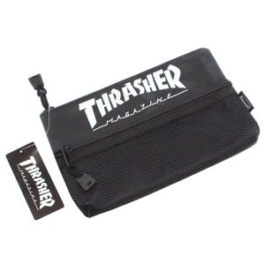大人気【SHRASHER】のステーショナリーが登場! 流行りのメッシュポケットがアクセント!