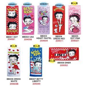 ベティ ブープ フェイスタオル ベティちゃん 海外 アニメ セクシー キャラクター グッズ ロング タオル ネコポス可|babu