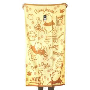 ディズニー バスタオル カジュアル プー BI807600 ジャガード地 キャラクター お風呂 グッズ 大判 林 かわいい タオル ネコポス可 babu