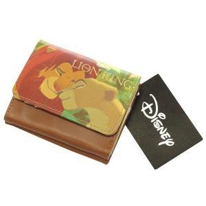 ディズニー ミニウォレット ライオンキング DN04978 三つ折り財布 折りたたみ財布 かわいい レディース SHO-BI ネコポス可 babu