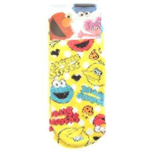 8足購入でネコポス送料無料 セサミストリート もこもこ 靴下 RMS0091 レディース ルームソックス キャラクター グッズ babu