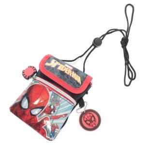 スパイダーマン ショルダーミニポーチ スパイダーバース SPM31460 子供用 男の子 キッズ ポーチ ポシェット キャラクター グッズ ネコポス可|babu