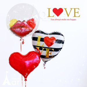ヘリウム/浮くインサイダーバルーン3個セット(LOVE) 誕生日 結婚式 発表会 出産祝い 結婚祝い プレゼント 電報・LOVE フローティングバルーン・ baby-arte