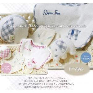 出産祝い 安心の上質オーガニック ベビートーイセット カゴS-3・オーガニック カゴS-3・ baby-arte